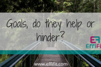 Goals, do they help or hinder your progress?