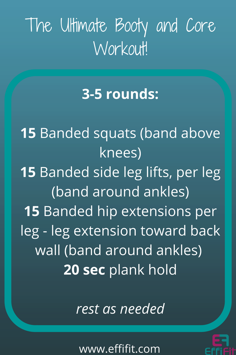 The Ultimate Booty and Core Workout
