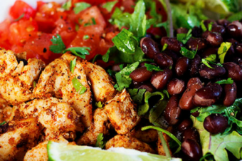 Spicy Chipotle Chicken Bowl