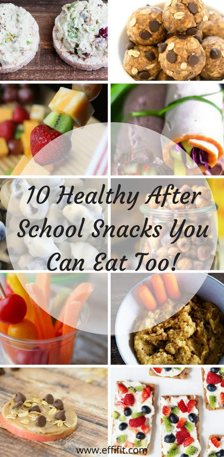 10 Protein Packed After School Snacks