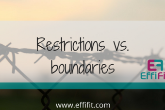 Restrictions vs. Boundaries