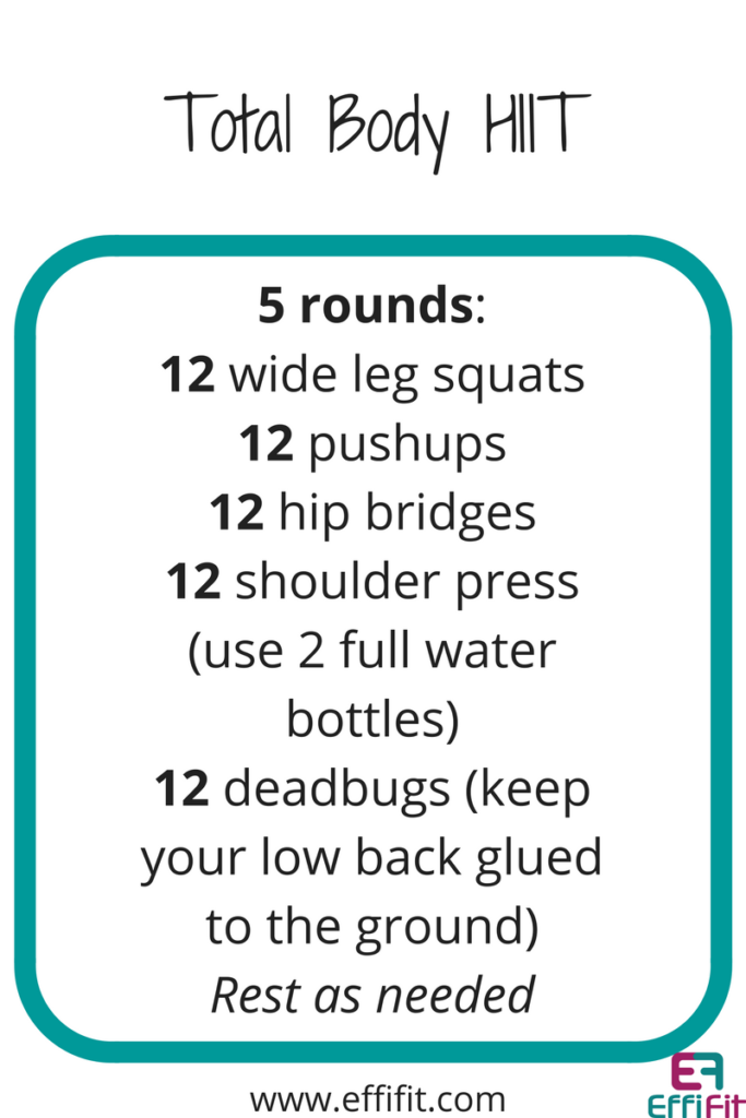 EffiFIT Total Body HIIT Workout