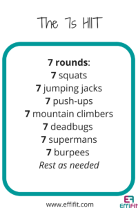 EffiFit the 7s HIIT Workout