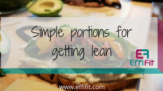 Simple portions to get lean