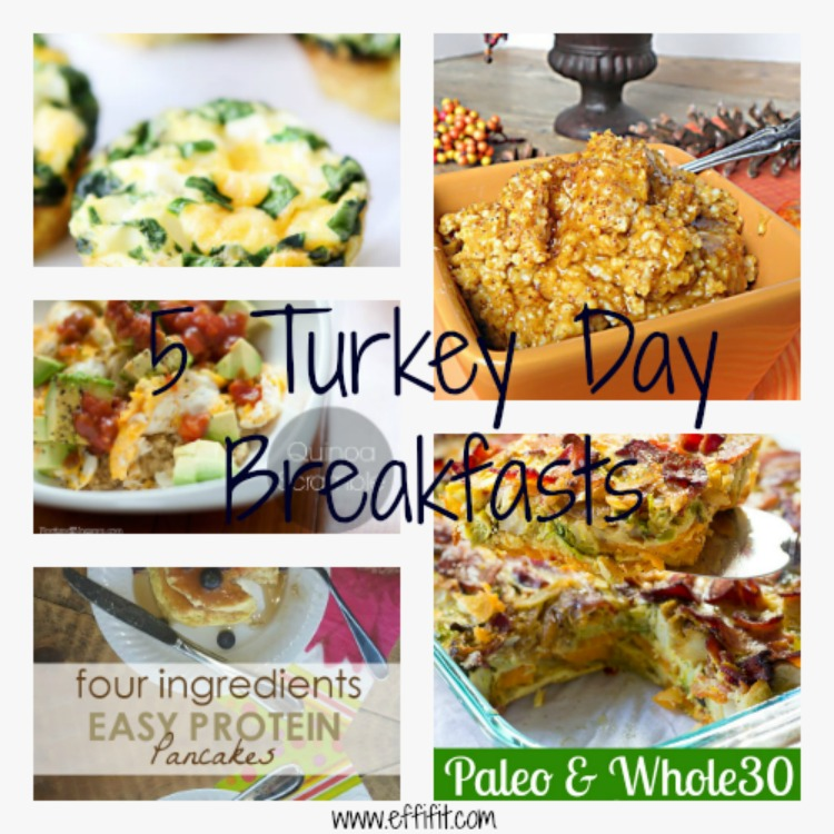 5 Turkey Day Breakfasts