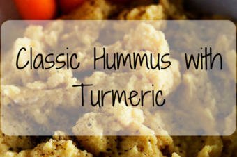 Classic Hummus with Turmeric