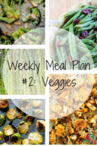 EffiFit Weekly Meal Plan #2: Vegetable Sides