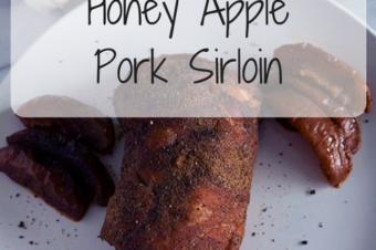 Slow Cooker Honey Apple Pork Sirloin