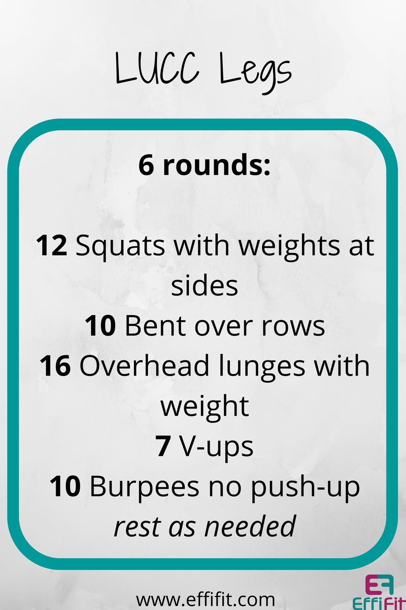 LUCC Your Body Trial Workout