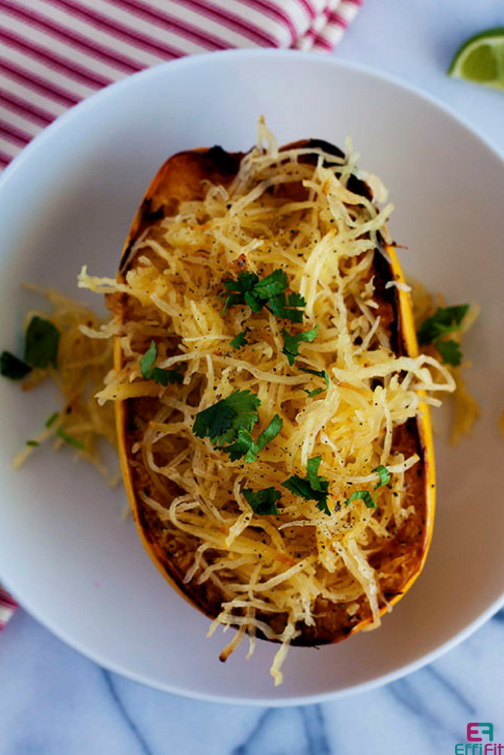 Oven Roasted Spaghetti Squash