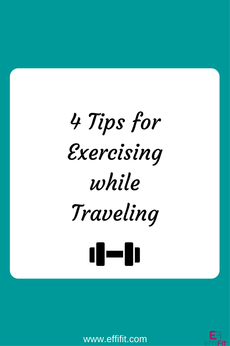 Tips for exercising while traveling