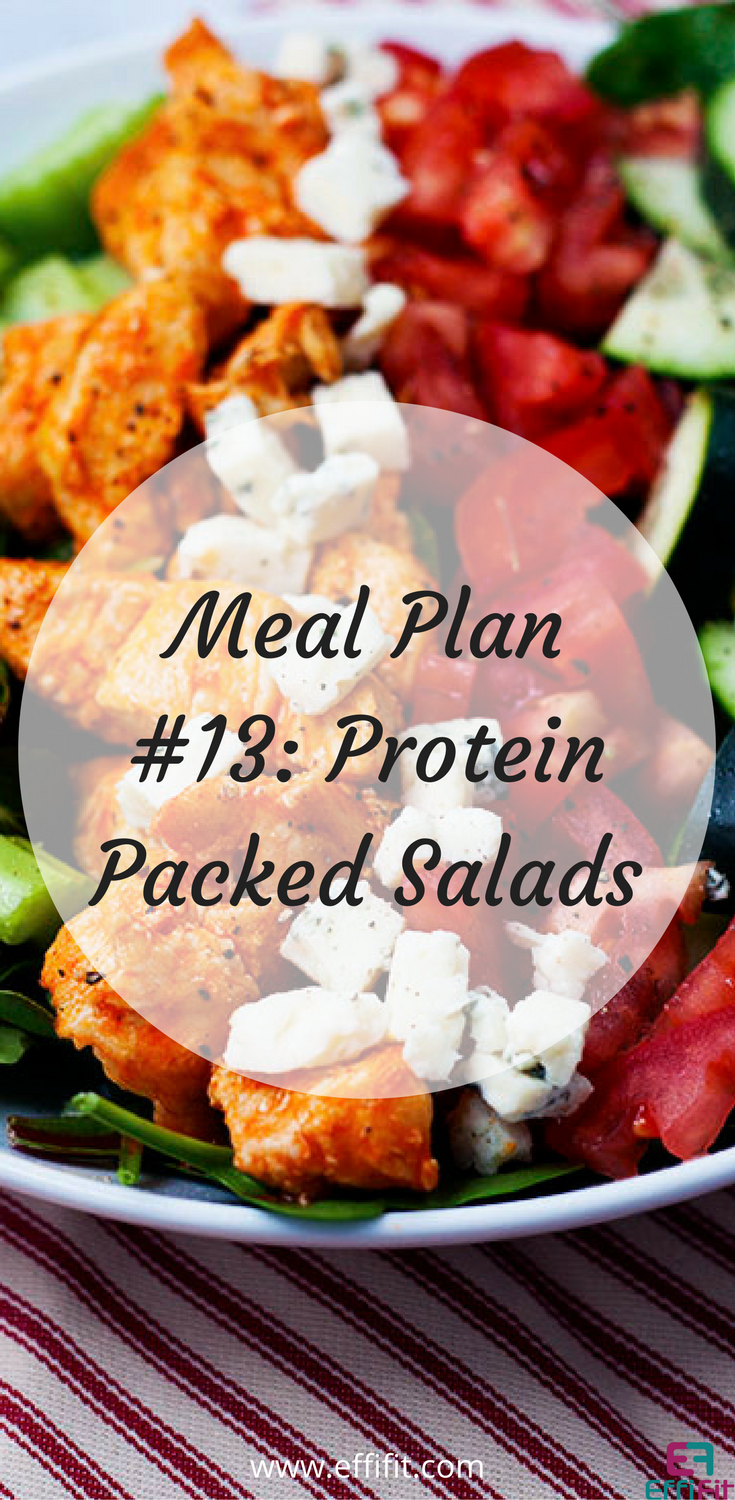 Meal Plan #13: Protein Packed Salads