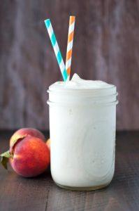 Peaches-and-Cream-Protein-Smoothie