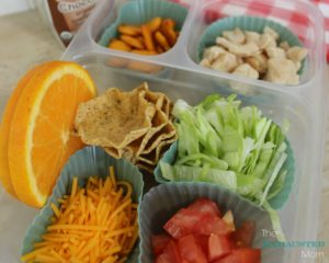 Taco Bento box for kids