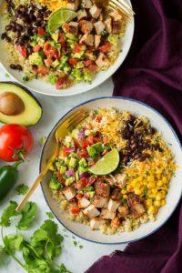 Grilled Chicken Burrito Bowl