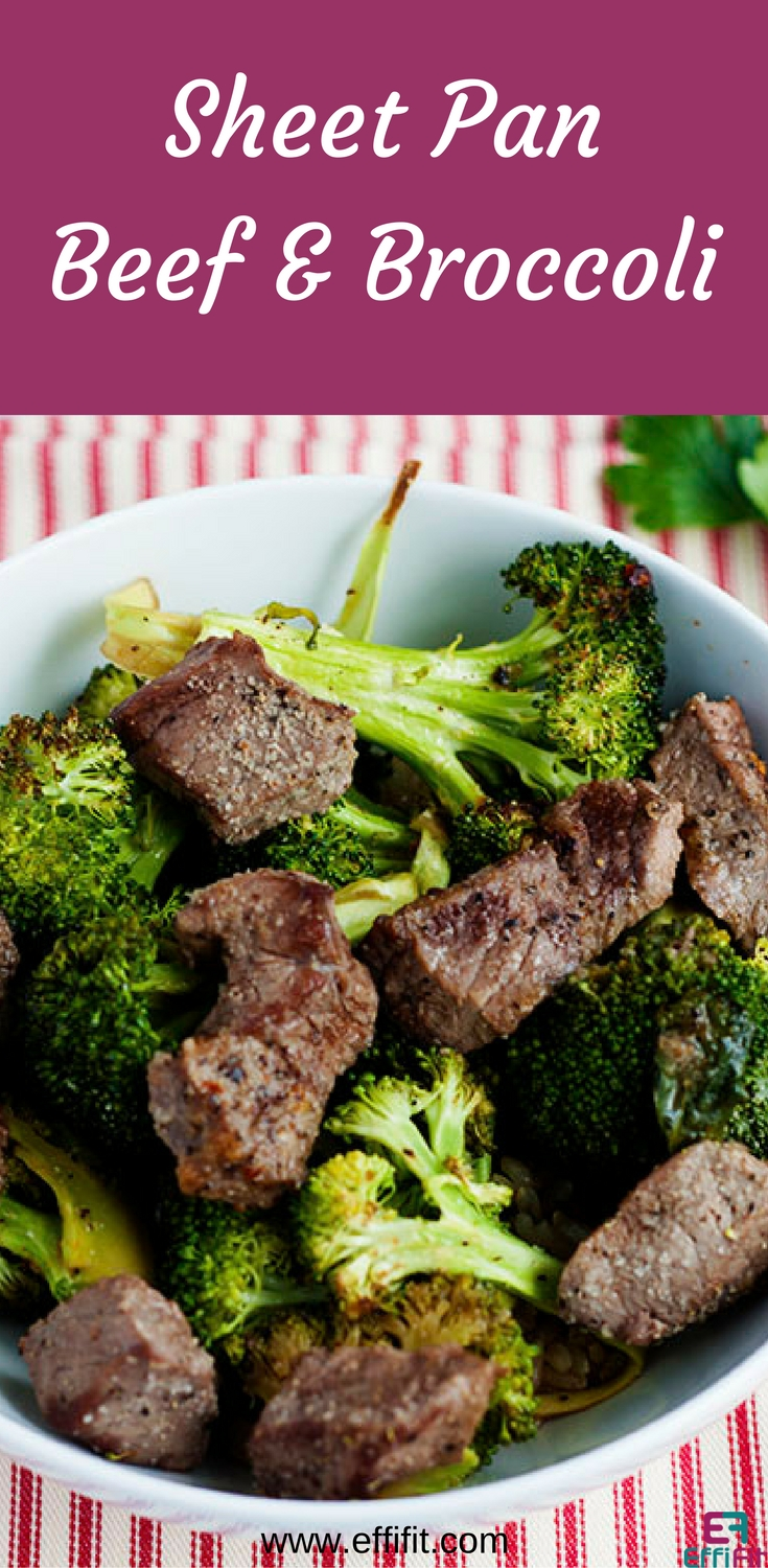Sheet Pan Beef and Broccoli
