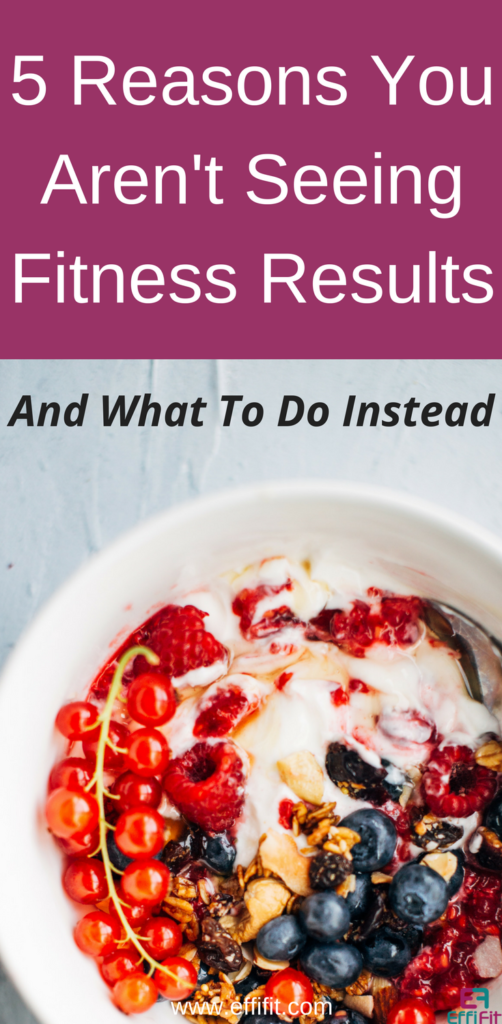5 tips to get fitness results
