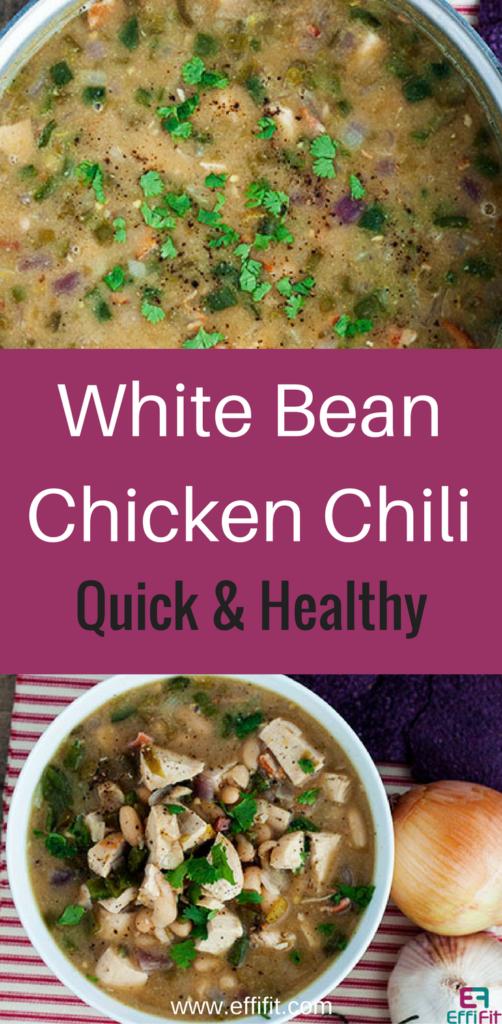 Healthy White Bean Chicken Chili