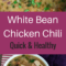 Healthy White Bean Chicken Chili